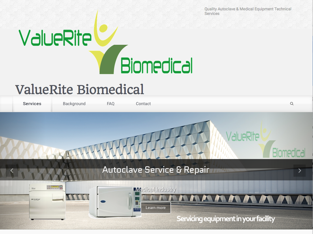 Autoclave Repair website