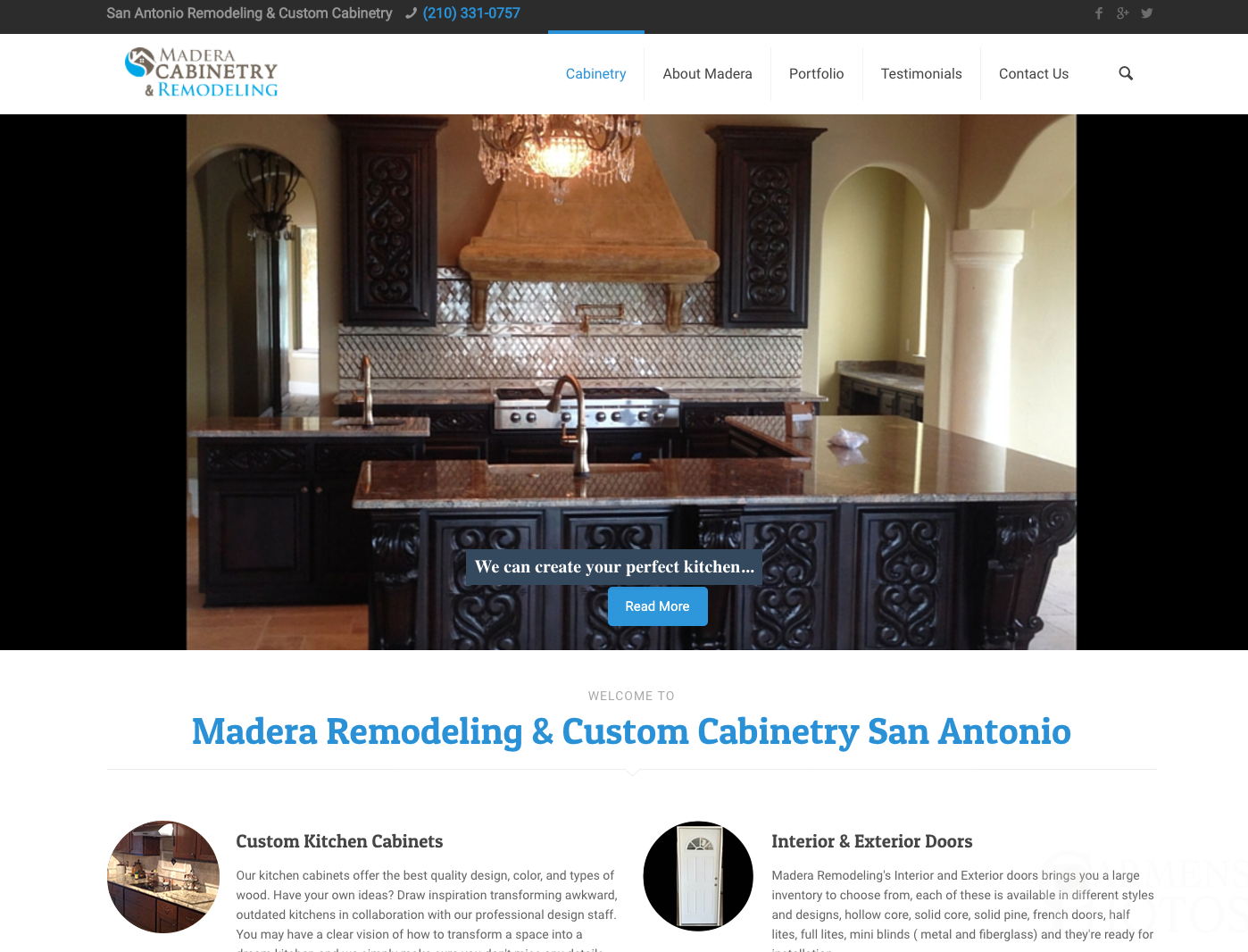 Cabinetry & Remodeling Site