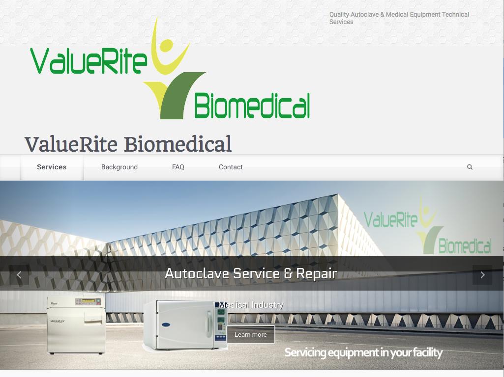 Autoclave Repair website